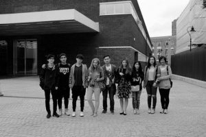 Art Trip to London students