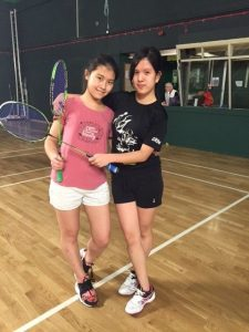 badminton doubles_girls