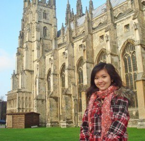 Former student now at Cambridge